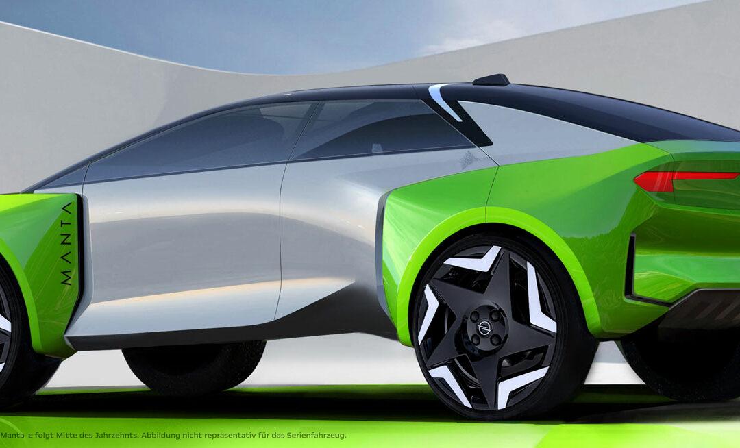 Boah E: Opel bringt 2025 vollelektrischen Manta