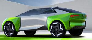 Konzeptstudie für Opel Manta-e