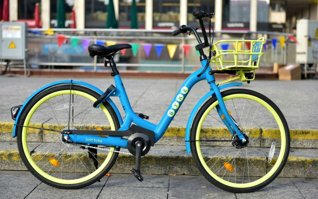 "Neuer Bikesharer ""Byke"": Qualität statt Masse"