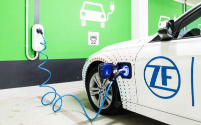 Für ZF sind Plug-in-Hybride Wegbereiter der E-Mobilität