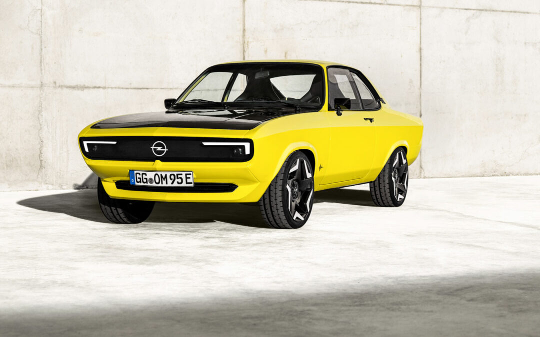 Opel lässt den Manta als Elektroauto auferstehen