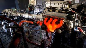 Motorenprüfstand bei AMG