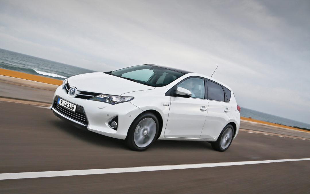 Im Sparsamkeitstest: Der Toyota Auris Hybrid