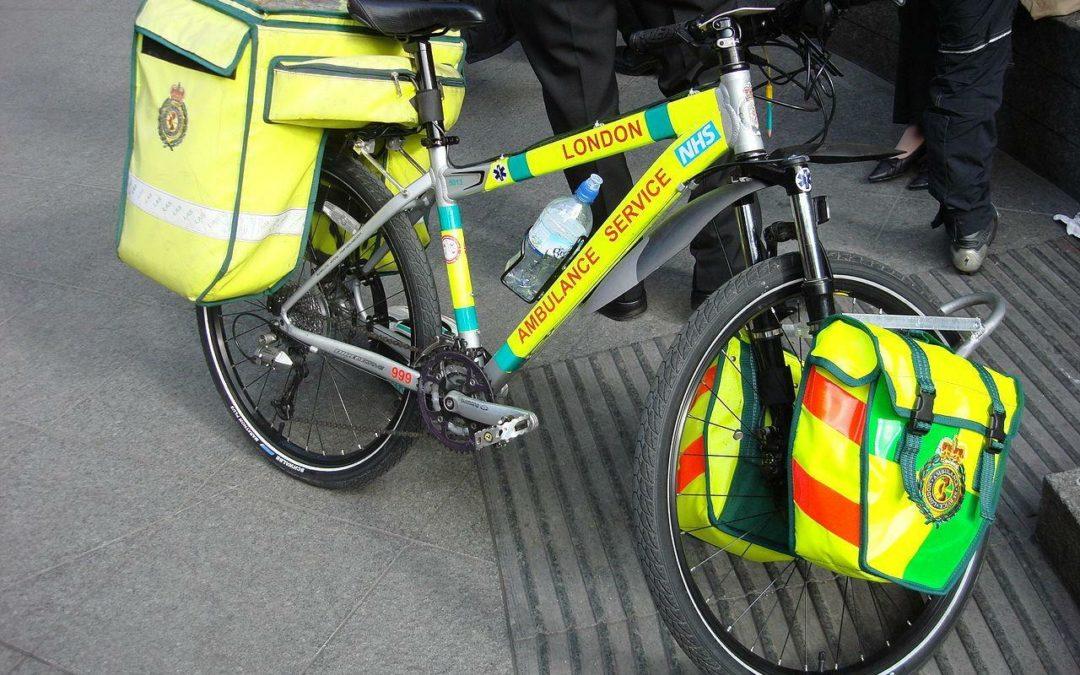 Sanitäter: Leben retten auf dem Fahrrad