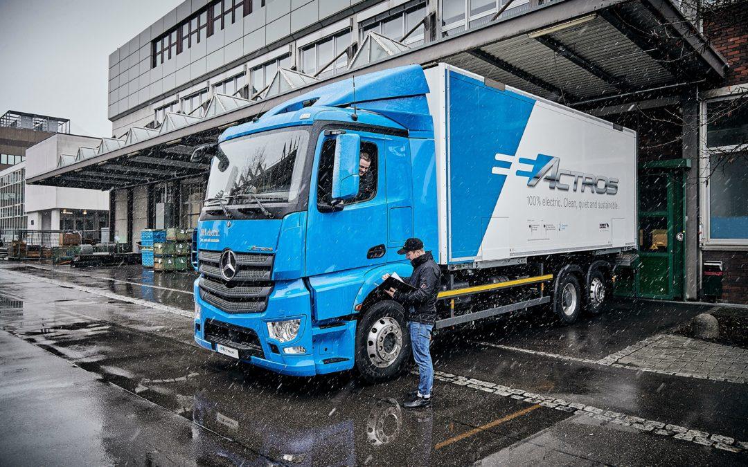 Daimler-Truck-Vorstand: Batterie nichts für Langstrecken