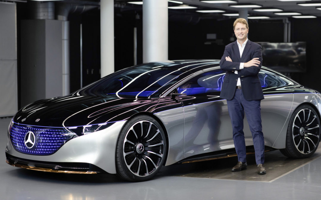 Daimler-Chef Källenius leert den Klimarucksack