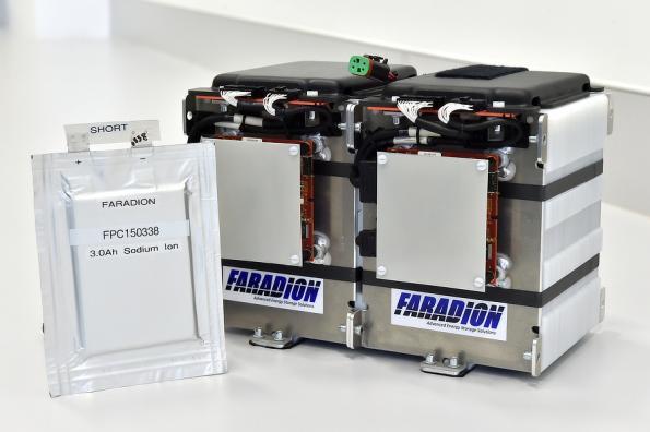 Natrium-Batterie
