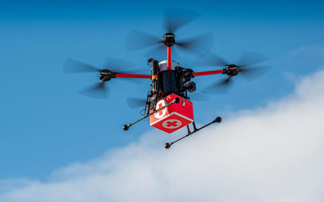 Drohnen schneller als jeder Rettungswagen