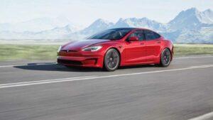 Das Tesla Model S Plaid wurde vor der Premiere ausgiebig im Straßenverkehr getestet.