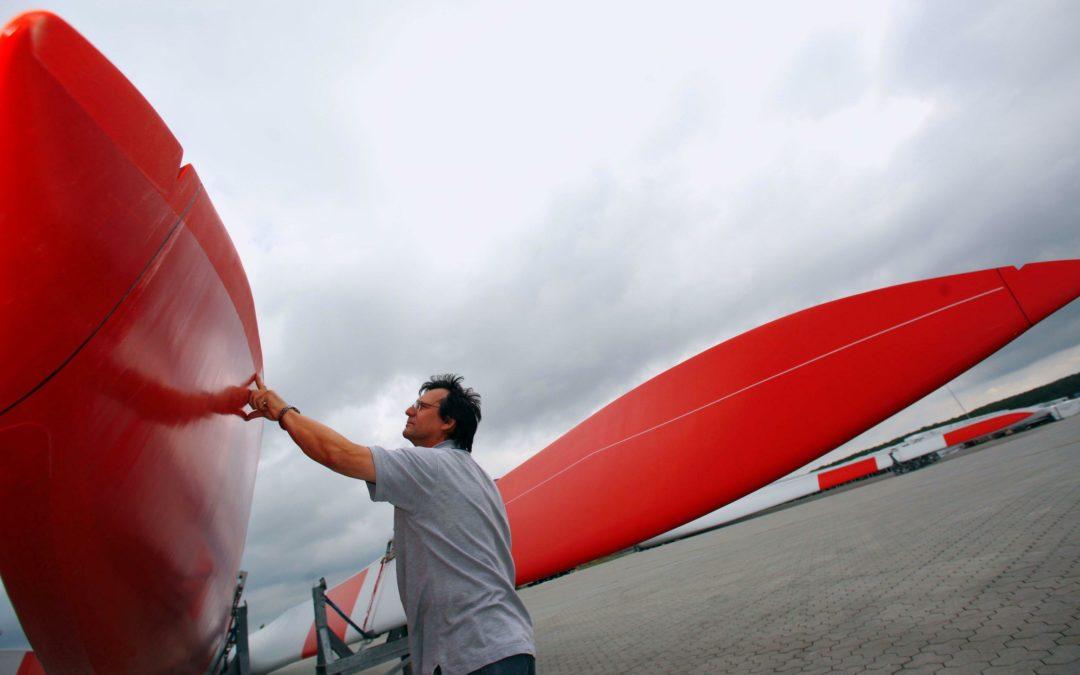 Windbranche: Fallende Kurse, leere Werke