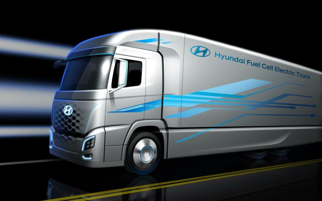 Hyundai: 1000 Brennstoffzellen-Lkw für die Schweiz