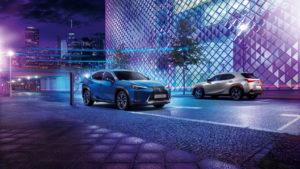 Batterieauto von Lexus
