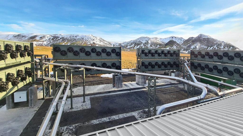 CCS-Anlage auf Island