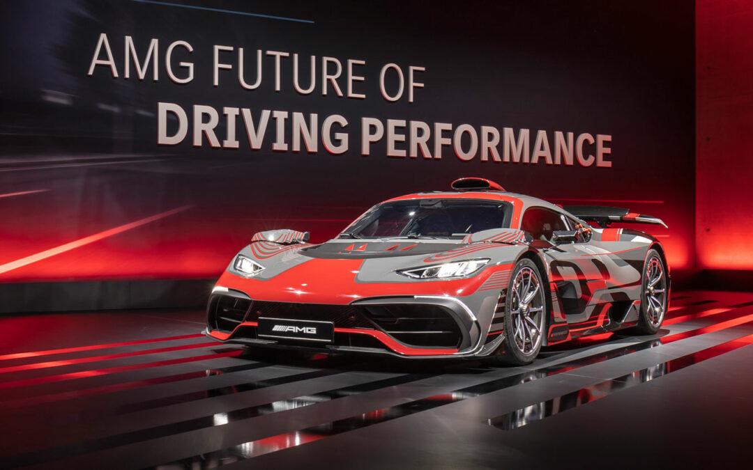 Auch Mercedes-AMG setzt nun auf Elektro-Power