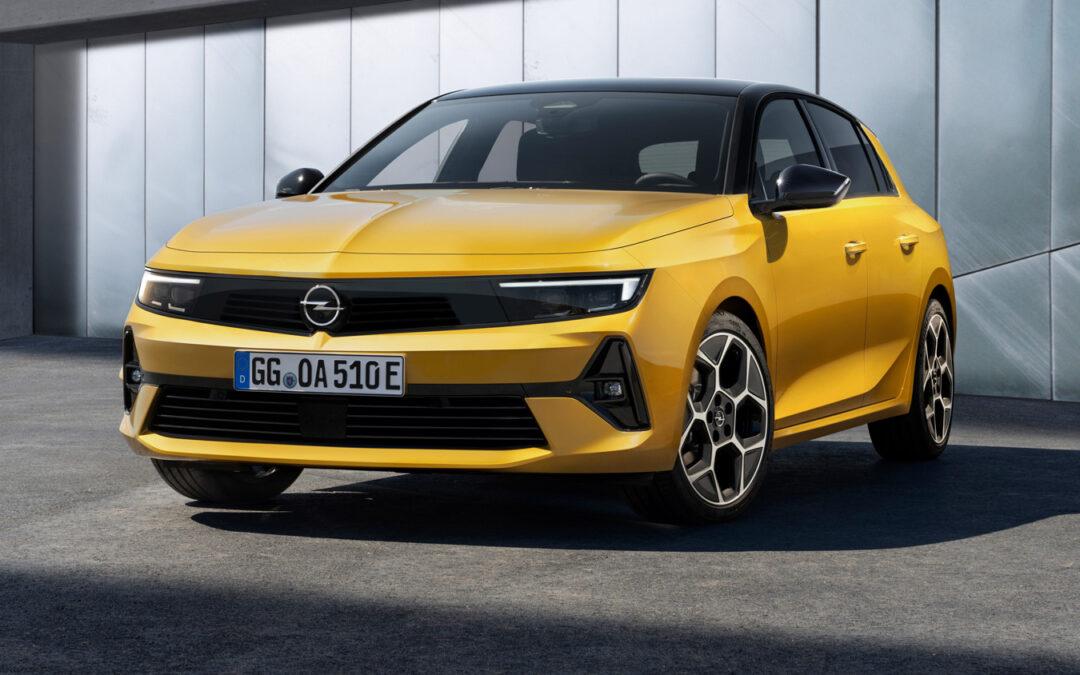Neuer Opel Astra fährt (auch) elektrisch