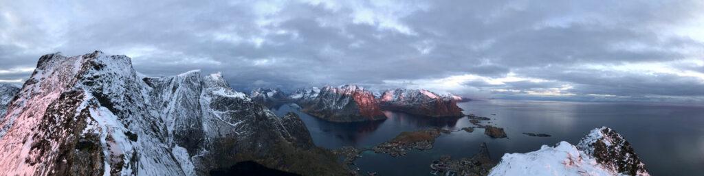 Panoramabild Norwegen