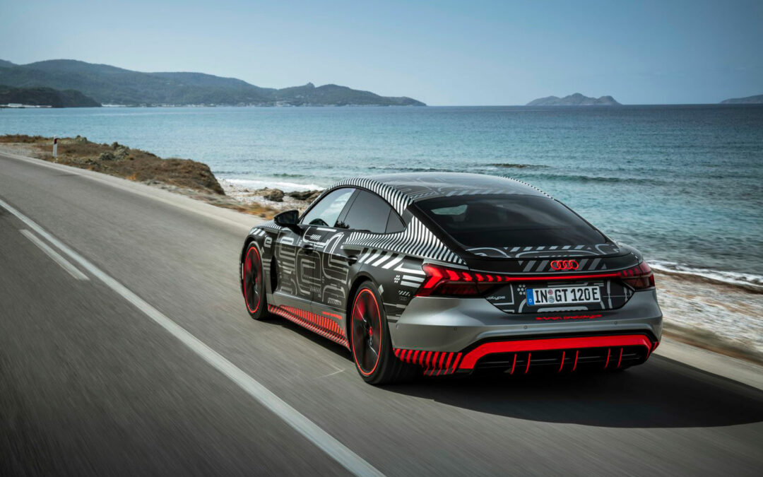 So rasant fährt sich der neue      Audi RS e-tron GT