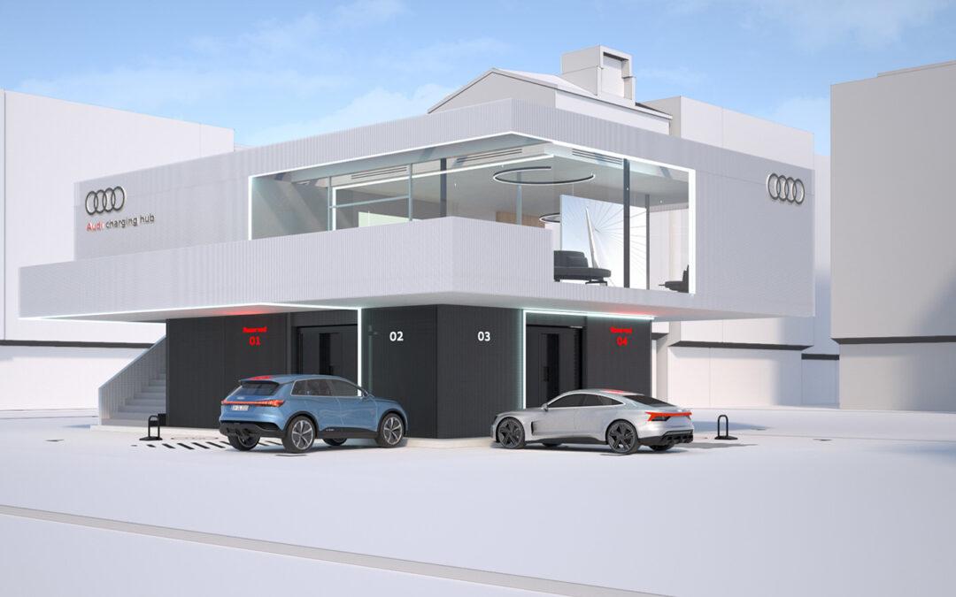 """Audi eröffnet im Oktober ersten """"Charging Hub"""""""