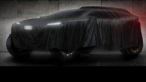 Konzeptauto von Audi für die Dakar Rallye