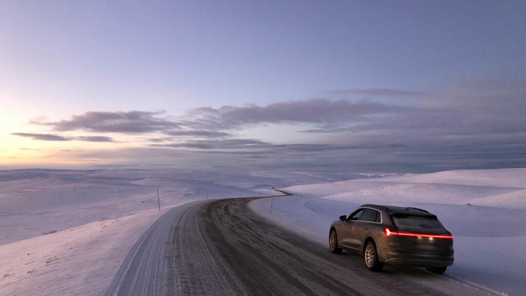 Audi e-tron in Norwegen