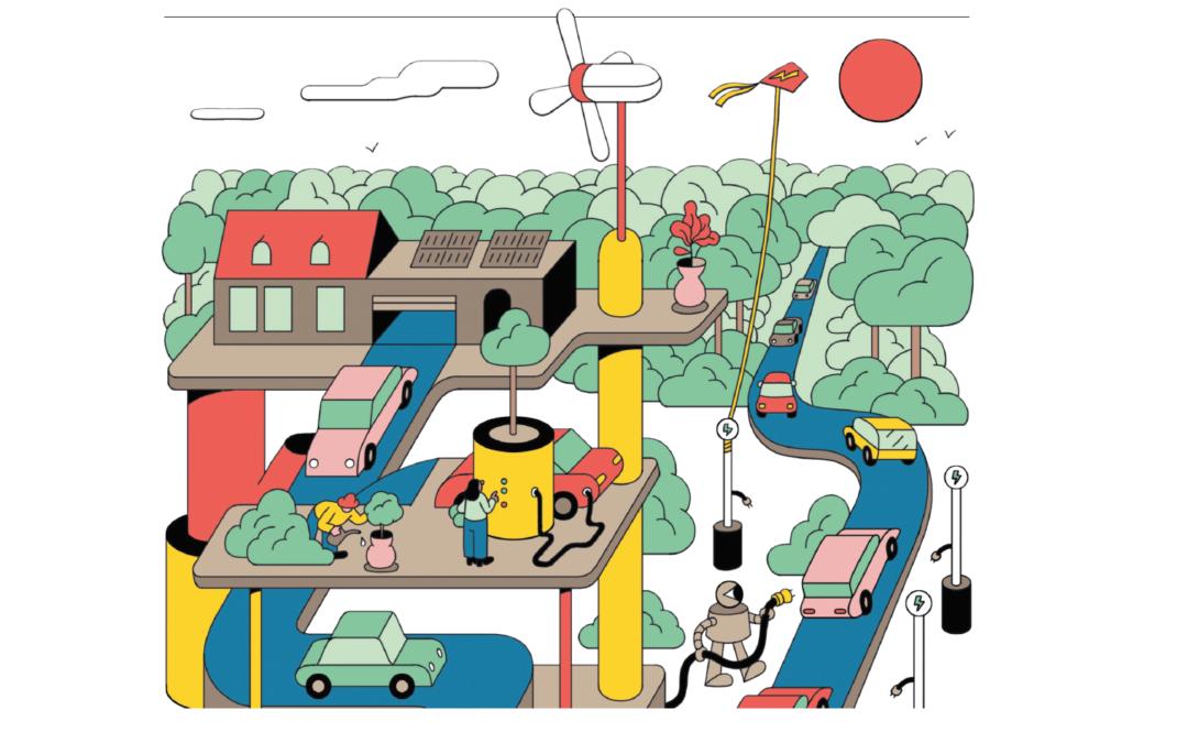 Elektroauto: Schneller laden  am Rande der Autobahn