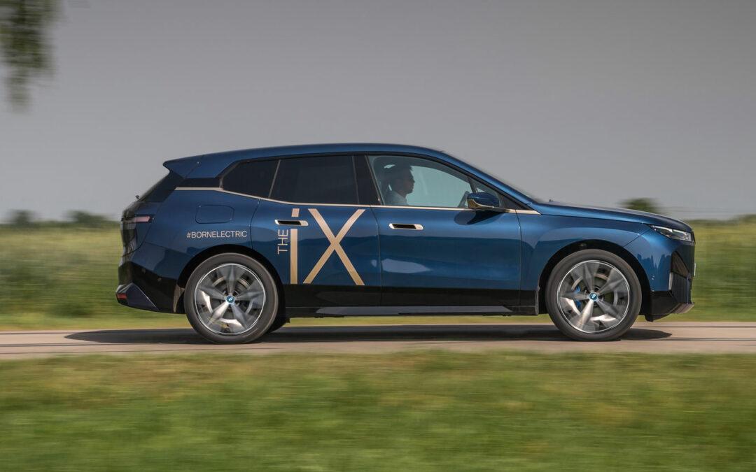 Mit dem iX wagt BMW einen Neuanfang