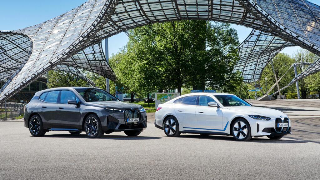 BMW i3 und BMW iX
