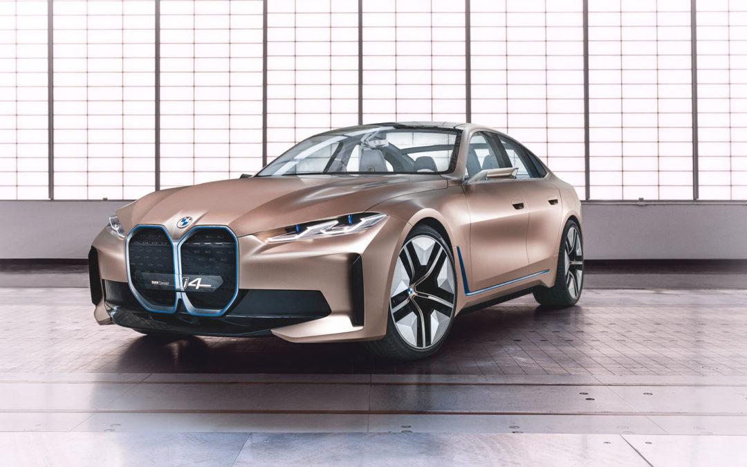 Elektrischer BMW i4 wird in München gebaut