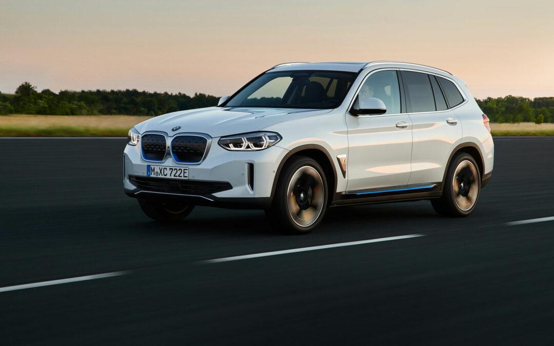 BMW gibt Elektromobilität mit dem iX3 neuen Schwung