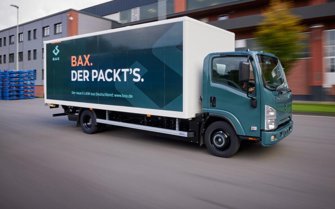 BAX Elektro-Laster düpiert die Großkonzerne