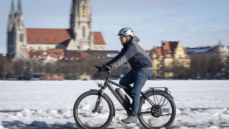 So kommt das E-Bike gut durch die dunkle Jahreszeit