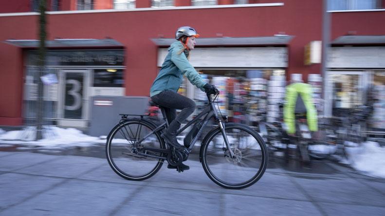 Mit dem Fahrrad durch die kalte Jahreszeit