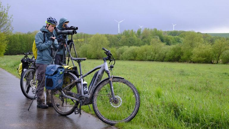 Mit dem E-Bike auf die Vogelpirsch
