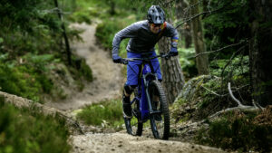 Mountainbike mit E-Antrieb