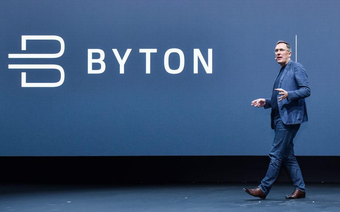 Byton auf der Zielgeraden