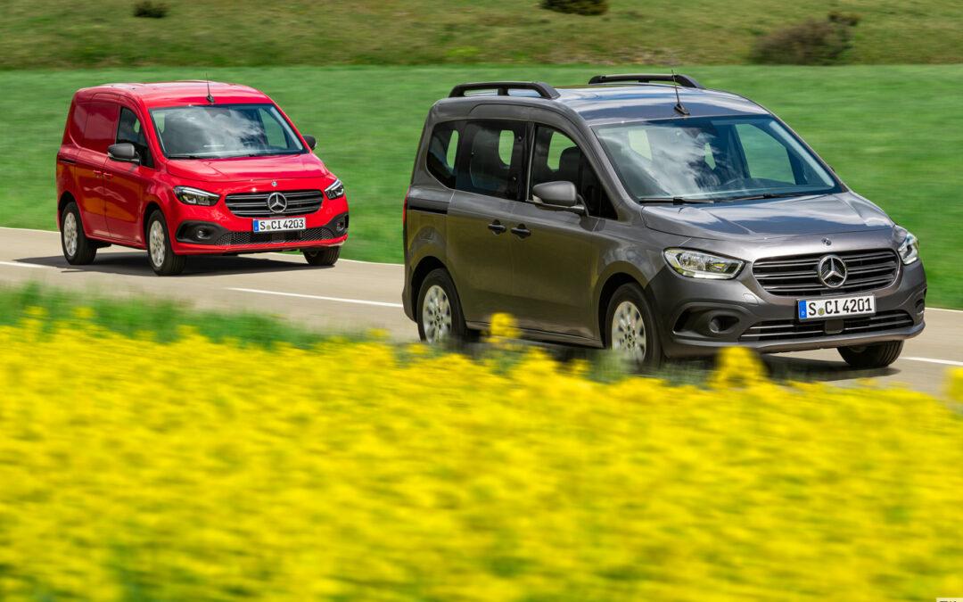 Mercedes Citan künftig auch mit Elektroantrieb