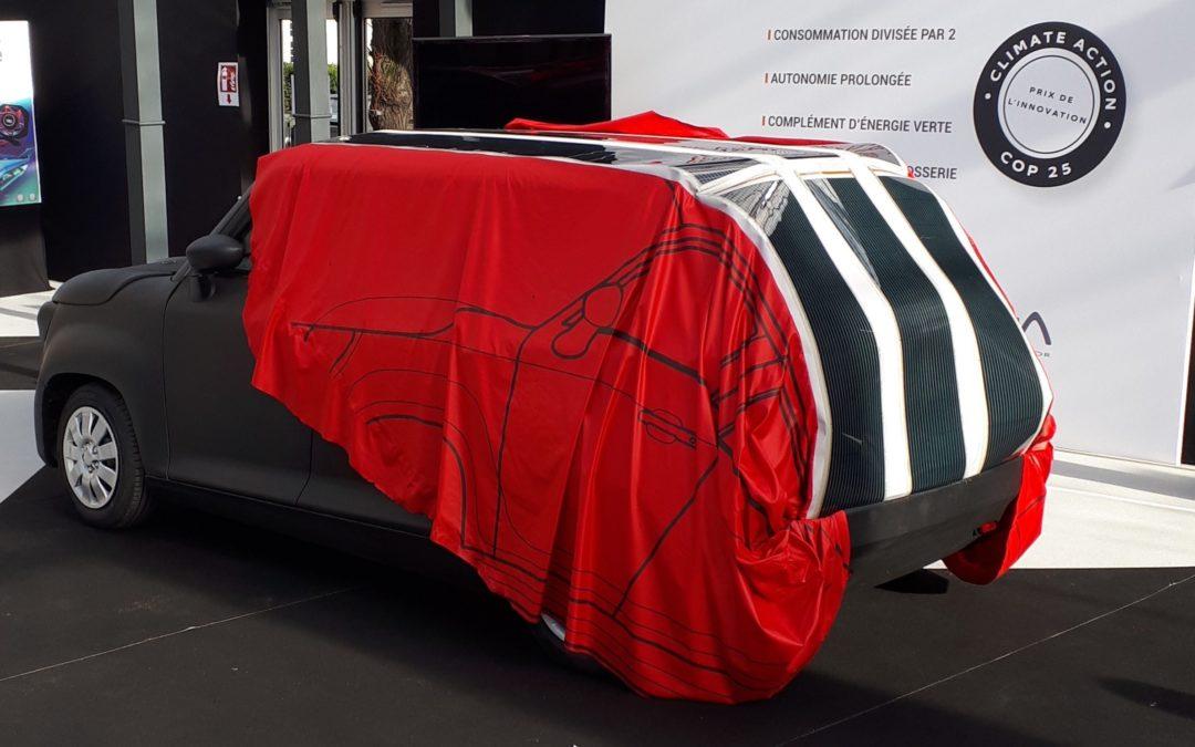 Schutzfolie mit Solarzellen soll Elektroautos laden