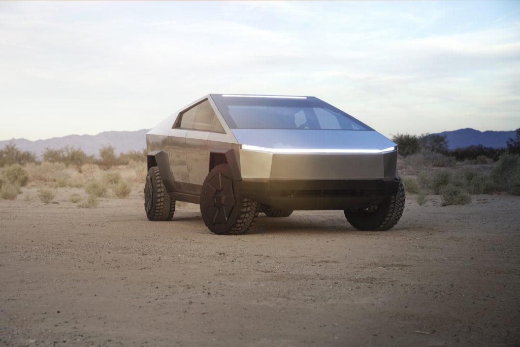 Tesla Cybertruck: Pick-up für Blade Runner