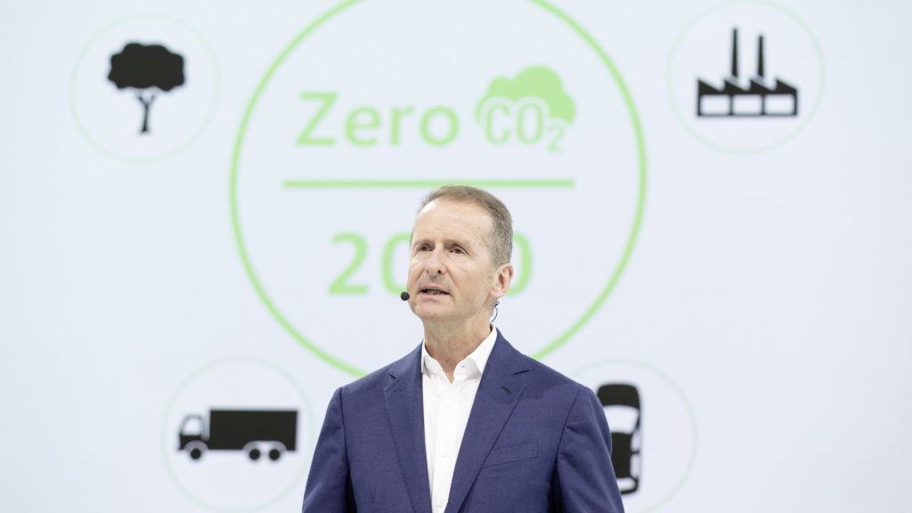 Dr. Herbert Diess, Chairman of the Board of Management of Volkswagen Aktiengesellschaft.