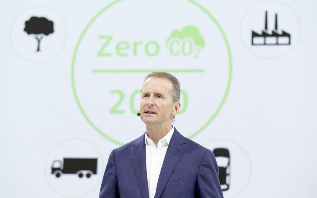 VW veröffentlicht CO2-Bilanz für seine Autos