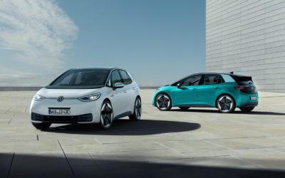 Volkswagen ID.3: Weiß, Türkis – und ganz viel Grau