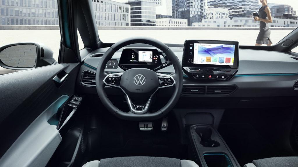 Cockpit ID.3 von Volkswagen