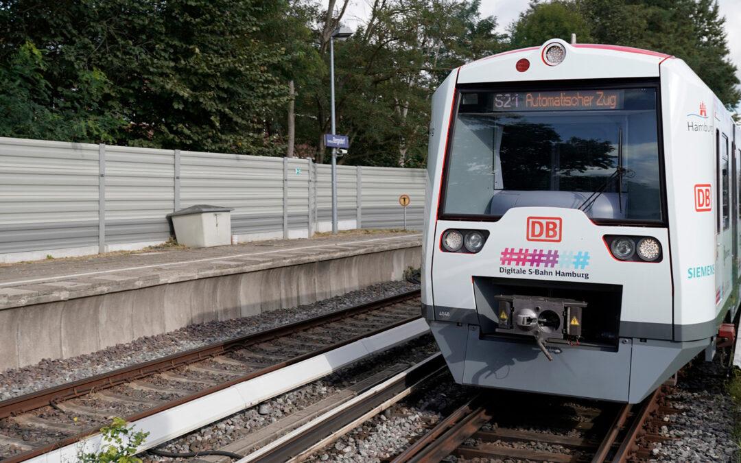 Hamburg lässt erste S-Bahn vollautonom fahren