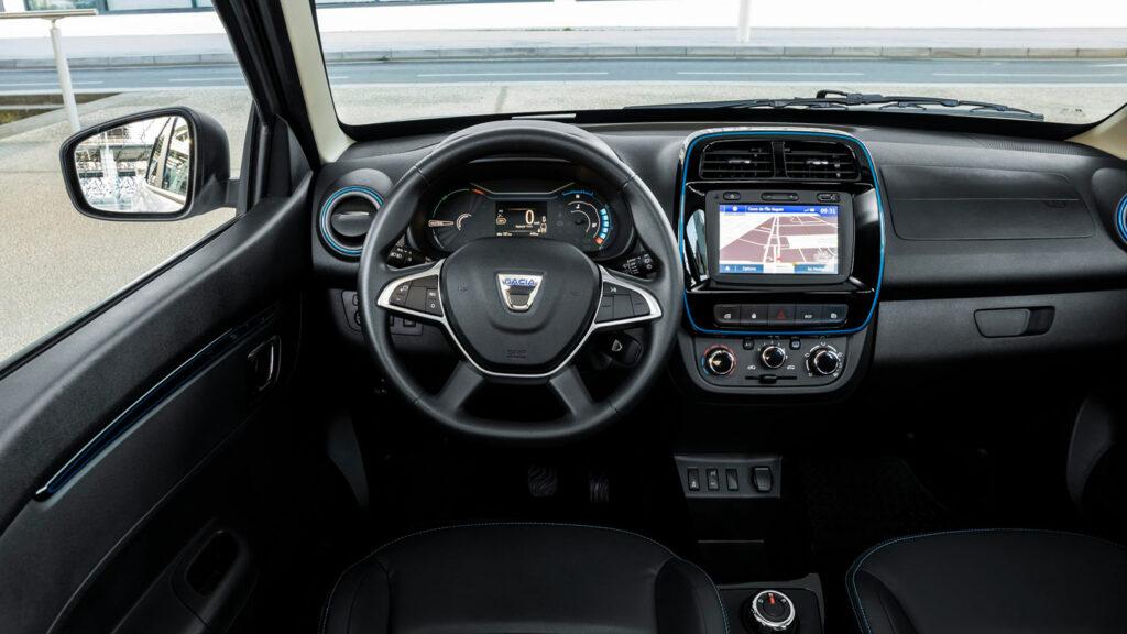 Innenraum des Dacia Spring Electric