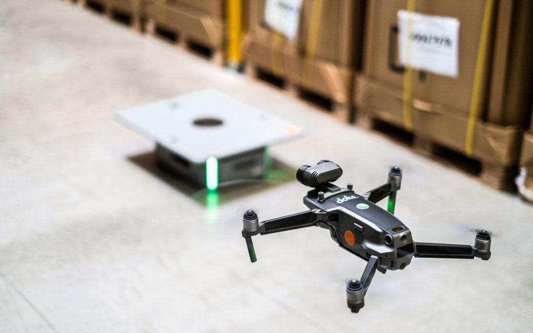 Inventuren erledigt Kollege Drohne im Vorbeiflug
