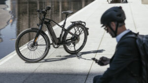 E-Bike im Stadtverkehr