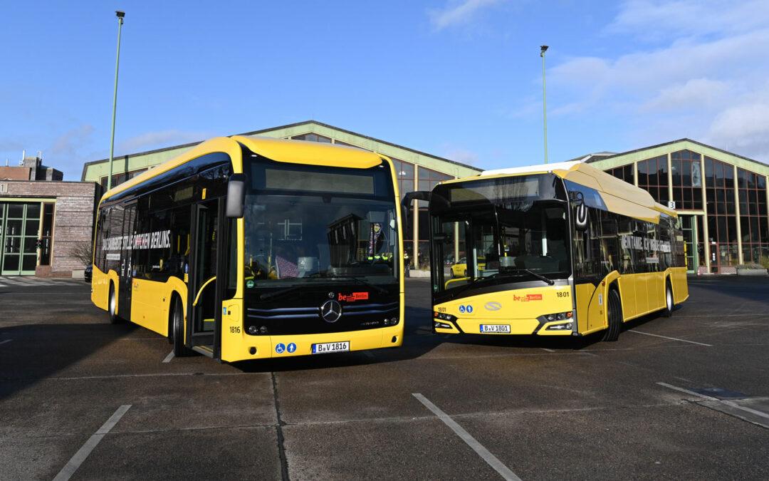 Elektrobusse erobern den deutschen Markt