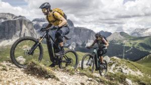 Mountainbiking in den Bergen