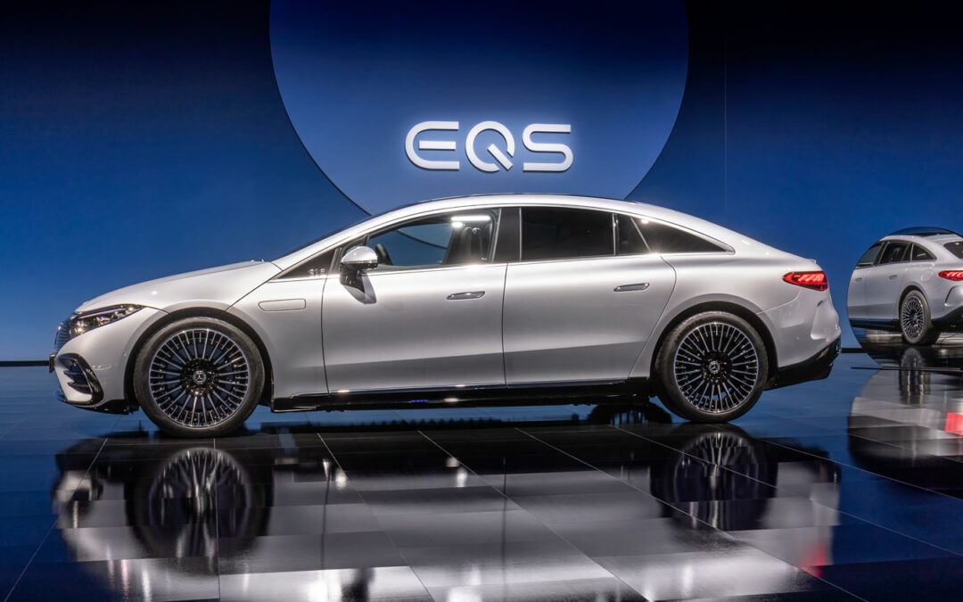 Mercedes EQS: Dagegen sieht ein Tesla Model S alt aus