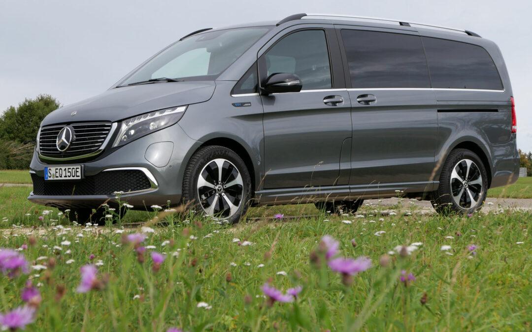 Mercedes EQV: Das E-Mobil für den Familienausflug